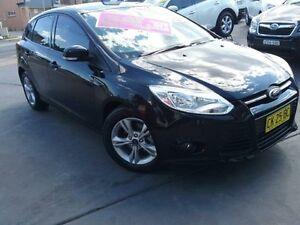 2013 Ford Focus LW MK2 Upgrade Trend Black 6 Speed Automatic Hatchback Greenacre Bankstown Area Preview