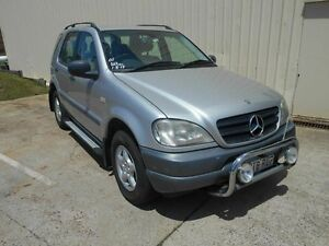 2001 Mercedes-Benz ML270 CDI W163 Classic Silver 5 Speed Sports Automatic Wagon Kippa-ring Redcliffe Area Preview