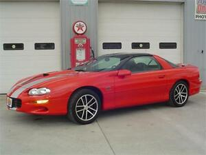 2002 Chevrolet Camaro SS - 35th Anniversary Limited Edition