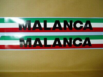 Kit adesivi decal stikers MALANCA TESTAROSSA 4M 5M