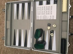 High Quality Expensive Backgammon Game Board suit Case.