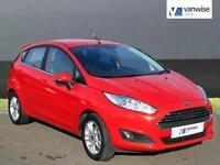 2015 Ford Fiesta ZETEC Petrol red Manual