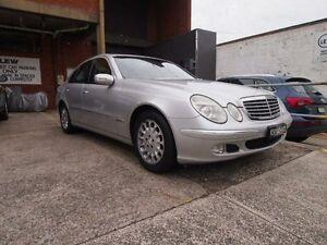 2004 Mercedes-Benz E240 W211 Elegance Silver 5 Speed Automatic Sedan Petersham Marrickville Area Preview