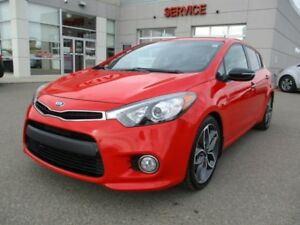 2016 Kia Forte 5-Door **ALL OPTIONS**HEATED LEATHER**NAVIGATION*