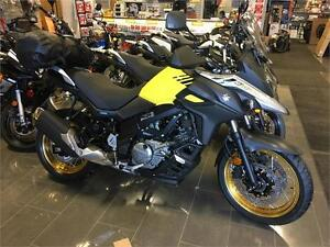 2017 Suzuki V-Strom DL650XT, spoke wheels, $10199.00