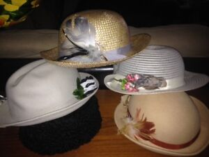 Excellent Used Condition Women's Vintage Hats