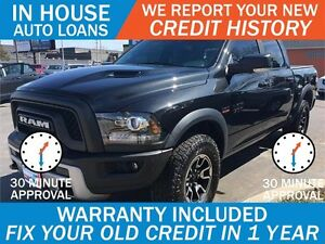 2016 RAM REBEL - APPROVED IN 30 MINUTES! - ANY CREDIT LOANS