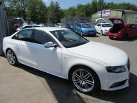 Audi A4 TDI S LINE SPECIAL EDITION 4d 141 BHP full service history