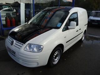 2008 volkswagen caddy c20 sdi * colour coded * car derived van diesel