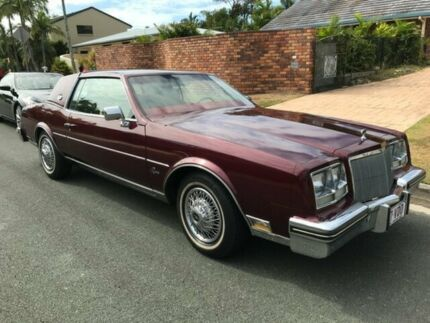 1980 Buick Riviera Maroon 4 Speed Automatic Coupe Kunda Park Maroochydore Area Preview