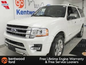 2017 Ford Expedition MAX Platinum 4WD ecoboost with heated/coole