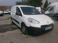 Peugeot Partner L1 850 S 1.6 Hdi 92 Van DIESEL MANUAL WHITE (2012)