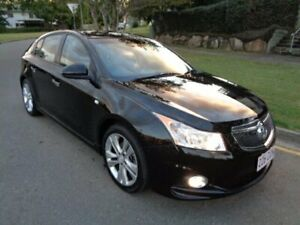 2013 Holden Cruze JH MY14 SRi V Black 6 Speed Manual Hatchback Chermside Brisbane North East Preview
