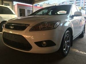 2011 Ford Focus LV MY11 LX White 6 Speed Automatic Sedan Braddon North Canberra Preview