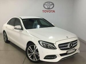 2014 Mercedes-Benz C200 W205 BlueTEC 7G-Tronic + White 7 Speed Sports Automatic Sedan West Ryde Ryde Area Preview