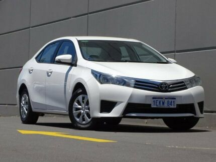 2014 Toyota Corolla ZRE172R Ascent S-CVT White 7 Speed Constant Variable Sedan Maddington Gosnells Area Preview