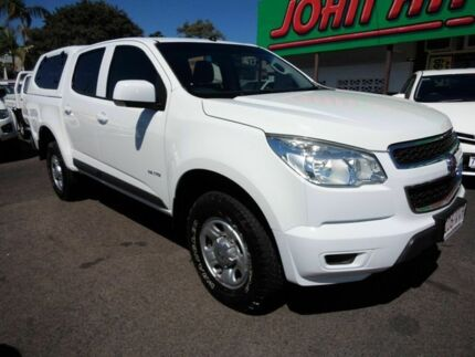 2012 Holden Colorado RG LX (4x4) White 6 Speed Automatic Crewcab Mount Gravatt Brisbane South East Preview