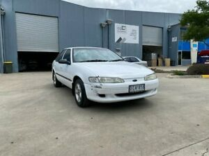 1996 Ford Falcon EL Futura White 4 Speed Automatic Sedan Newport Hobsons Bay Area Preview