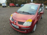Renault Modus 1.5 DCI DYNAMIQUE 80HP, FULL SERVICE HISTORY (red) 2005