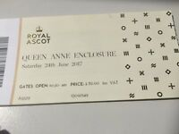 2 Saturday Queen Anne Enclosure Tickets
