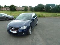 2008 VOLKSWAGEN POLO GTI 1.8 TURBO 150BHP BLUE 59,000 miles