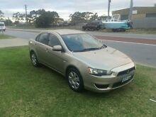 2009 Mitsubishi Lancer CJ MY09 ES Gold 6 Speed Automatic Sedan Wangara Wanneroo Area Preview