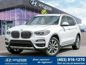 2019 BMW X3 xDrive30i *4YR/60,000KM FREE MAINTENANCE**AWD**LEATH