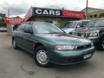 1995 Subaru Liberty LX Green 4 Speed Automatic Sedan