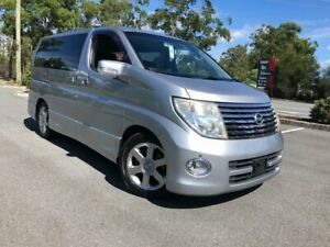 2006 Nissan Elgrand E51 Series 2 Highway Star Silver 5 Speed Automatic Wagon Arundel Gold Coast City Preview