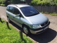 AUTOMATIC 7 SEATER VAUXHALL ZAFIRA IN IMMACULATE CONDITION INSIDE AND OUTSIDE NO FAULTS