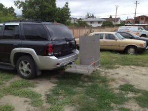 Wheel Chair ramp and Carrer - Phone Calls Only at 1-778-439-2212