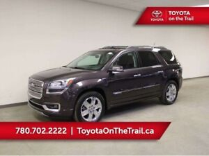 2015 Gmc Acadia DENALI AWD; LEATHER, DUAL SUNROOF, HUD, 7 PASSEN