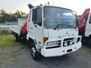 2007 Mitsubishi Fighter FK617HS White Cab Chassis Helensvale Gold Coast North Preview