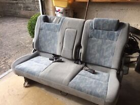 Mazda Bongo CENTRAL bench seat for sale 1997 split rear version .Seats in immaculate condition