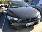 2010 Mitsubishi Lancer CJ MY10 ES 6 Speed Constant Variable Sedan St James Victoria Park Area Preview