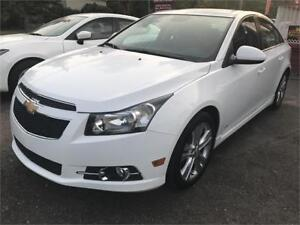 2014 Chevrolet Cruze 2LT | RS PKG|LEATHER |SUNROOF|BACKUP CAMERA