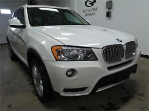 2011 BMW X3 NAVI*PANO ROOF*Back up cam*Parking assist,low kms