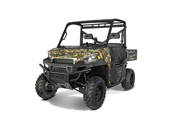 Used 2015 Polaris RANGER 570 FULL-SIZE CAMO