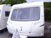 2007 Abbey Safari 495 FIXED BED 4 Berth inc Awning.