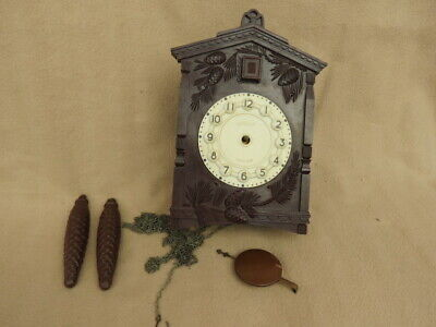 VINTAGE RUSSIAN MAJAK CUCKOO CLOCK FOR SPARES OR REPAIR