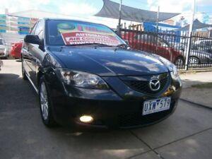 2007 Mazda 3 BK MY06 Upgrade Maxx Sport Black 4 Speed Auto Activematic Sedan Preston Darebin Area Preview