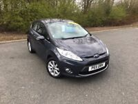 2011 FORD FIESTA 1.4 ZETEC BLUE PETROL MOT ONE YEAR GREAT CAR MUST SEE £3850 OLDMELDRUM
