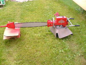 IEL 2 MAN TWIN CYLINDER CHAINSAW Peterborough Peterborough Area image 2