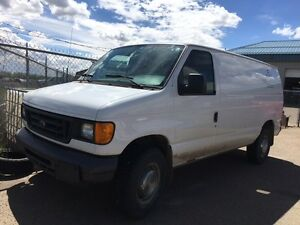 2006 Ford E-Series Van Grey Minivan, Van