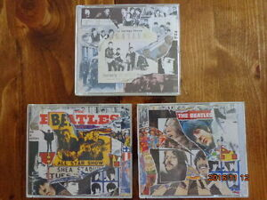 The BEATLES Anthology:  3 Sets of BEATLES CDs