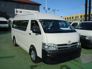 2012 Toyota Hiace TRH223R MY12 Upgrade Commuter White 4 Speed Automatic Bus Canada Bay Canada Bay Area Preview