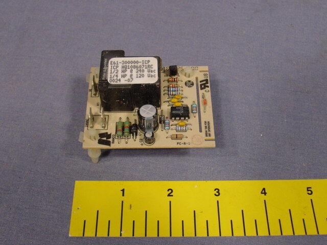 ICP Fan Control Board 1086071 E61 Thermostat E61-300000-ICP HQ108607RC