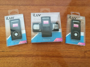 iLuv Perfect Fit iPod Nano 4th Gen Cases & Armband. Brunswick East Moreland Area Preview
