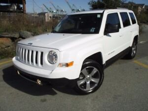 2017 Jeep PATRIOT HIGH ALTITUDE (4X4, HEATED LEATHER SEATS, MOON
