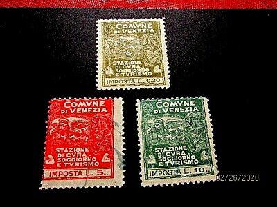 Italy -Venice local revenues, .20,5l,10l used*